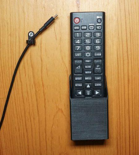 3D printed remote holder