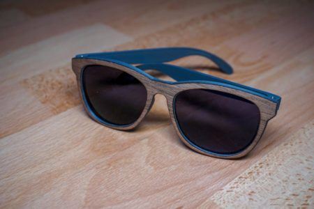 3D Printed Sunglasses with veneer