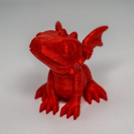 Cute 3D printed dragon