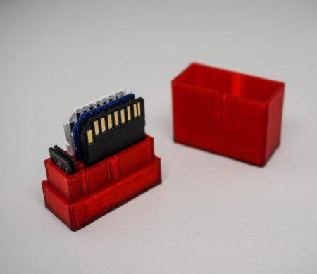 3d printed sd card holder